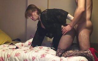 Sexy Dastard Femboy Merve Hardcore Fucked Big Cock Tattoed